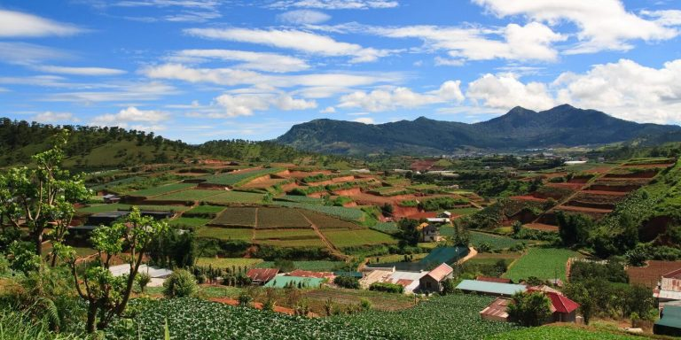 Krajobraz Wietnamu