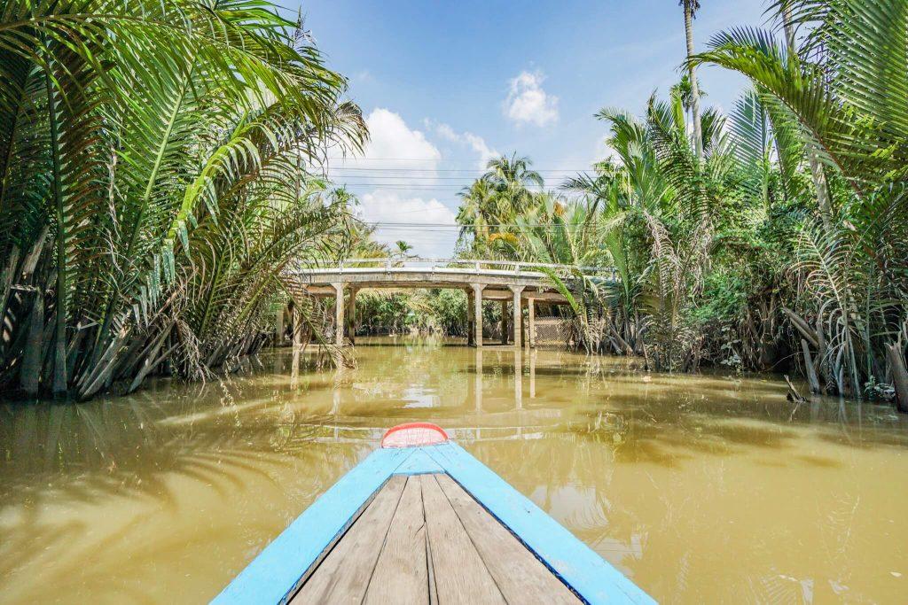 Mekong Delta Południowy Wietnam
