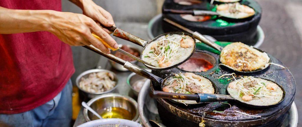 banh xeo vietnam deluxe jedzenie