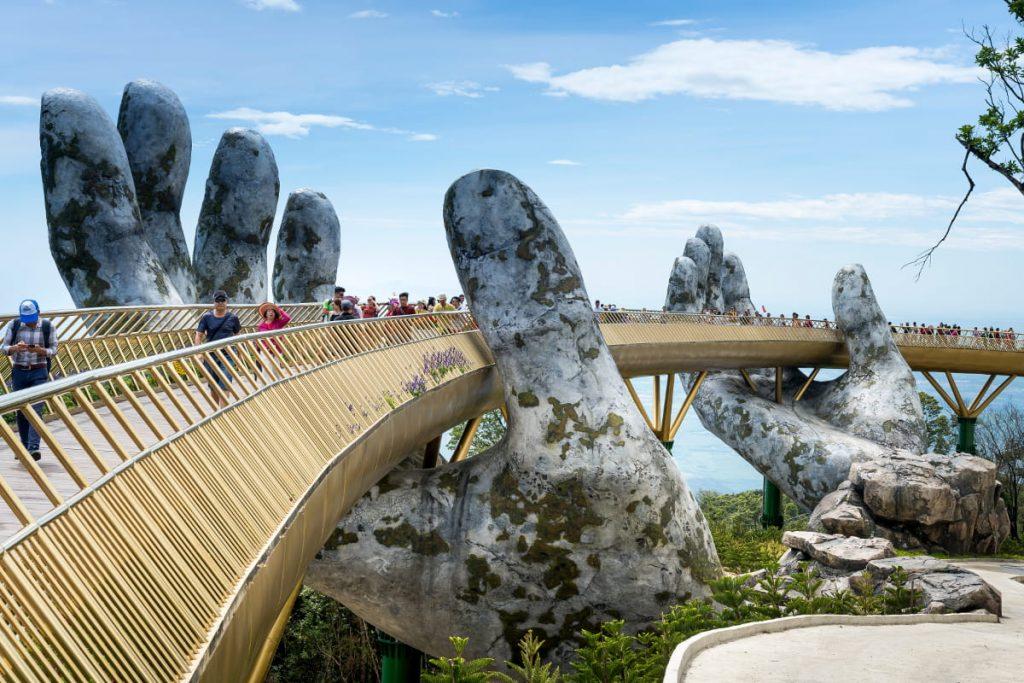 golden bridge wycieczka wietnam deluxe