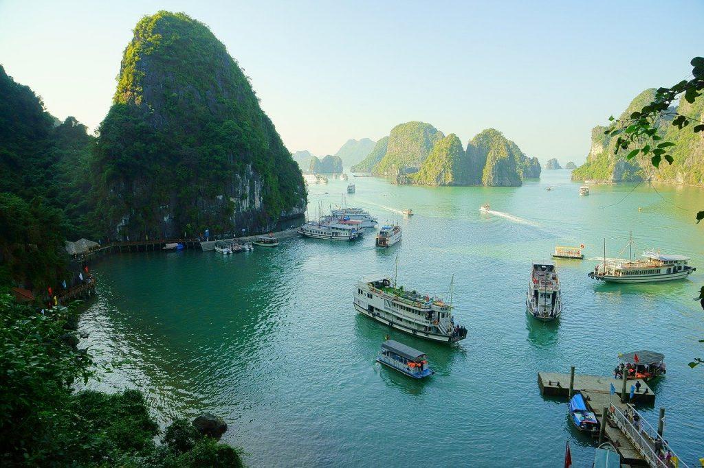 przystań Tuan Chau wycieczka z hanoi