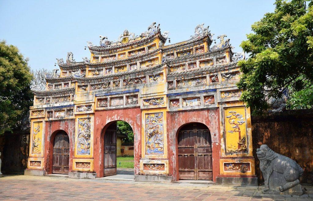 Hue zwiedzanie vietnam deluxe