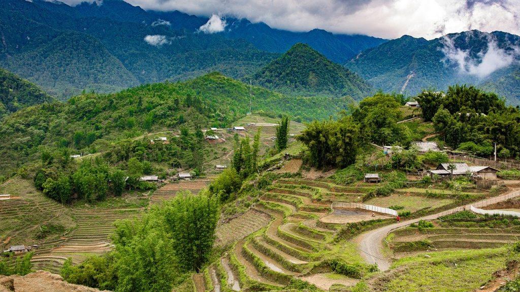 Sapa - lekki trekking wietnam