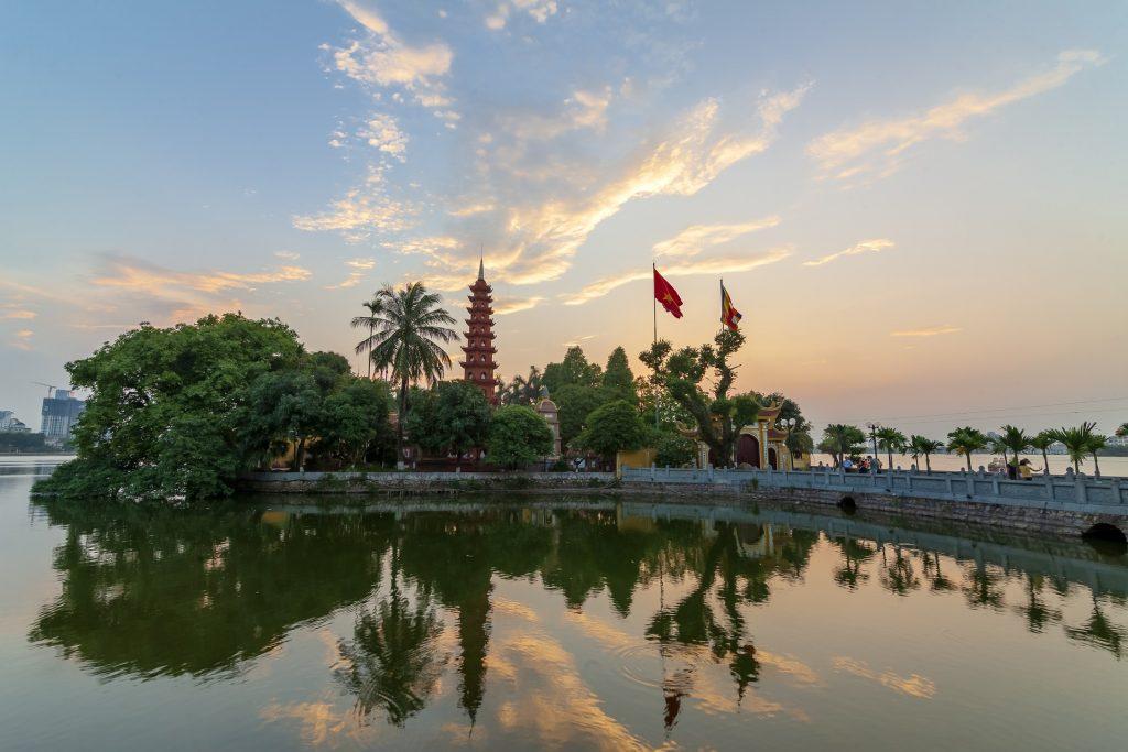 Pagoda Tran Quoc wycieczka wietnam
